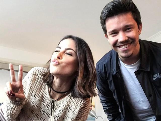 Nico Santos hat Kollegin Lena beim Kellnern kennengelernt