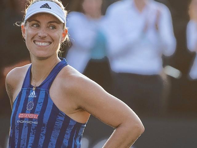 Tennis: Angelique Kerber gewinnt vor Wimbledon in Bad Homburg