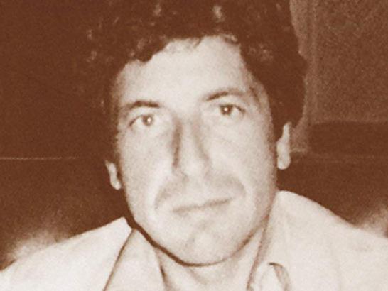 "Leonard Cohen – ""Iodine"""