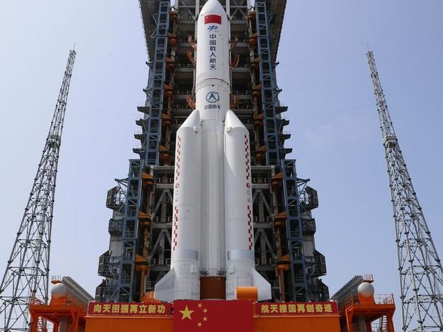Trümmer chinesischer Raketenstufe in Indischen Ozean gestürzt