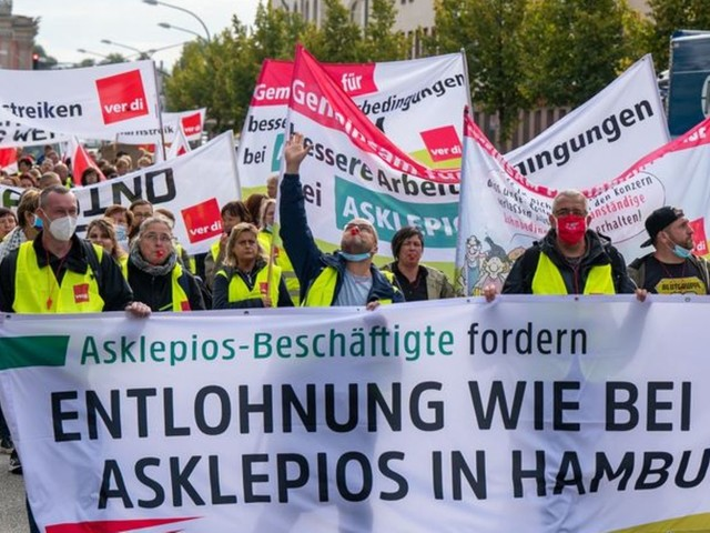 Landesarbeitsgericht: Streik bei Asklepios-Kliniken zulässig