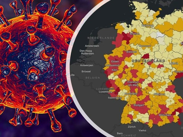 Große Hotspot-Übersicht - Rotes Band durchzieht Deutschland: Zahl der Corona-Risikogebiete steigt auf 129
