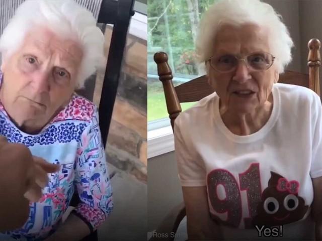 Die coolste Oma der Welt
