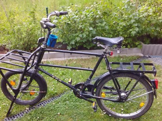 Transportrad Fahrrad Lastenrad Postfahrrad in Euerbach