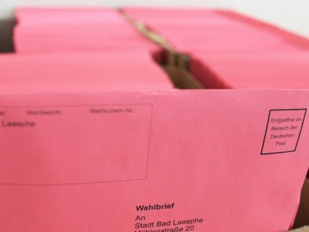 Bundestagswahl 2021: Bundestagswahl: Wittgenstein mit Rekord bei Briefwahl
