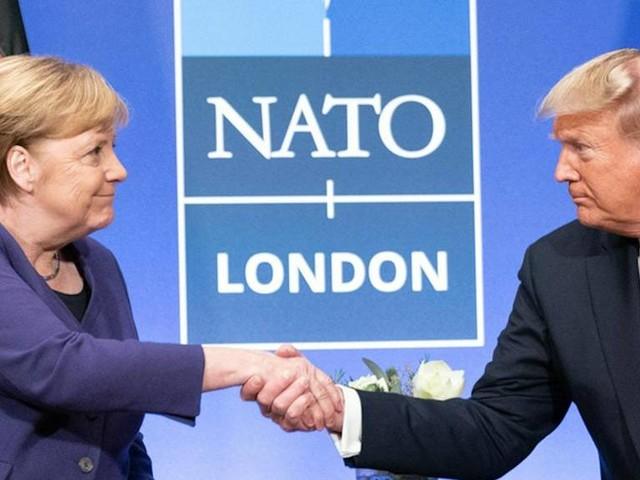 Donald Trump: Das hat der US-Präsident schon über Angela Merkel gesagt