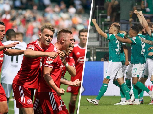 Fortuna Düsseldorf gegen Werder Bremen live im TV und Online-Stream sehen