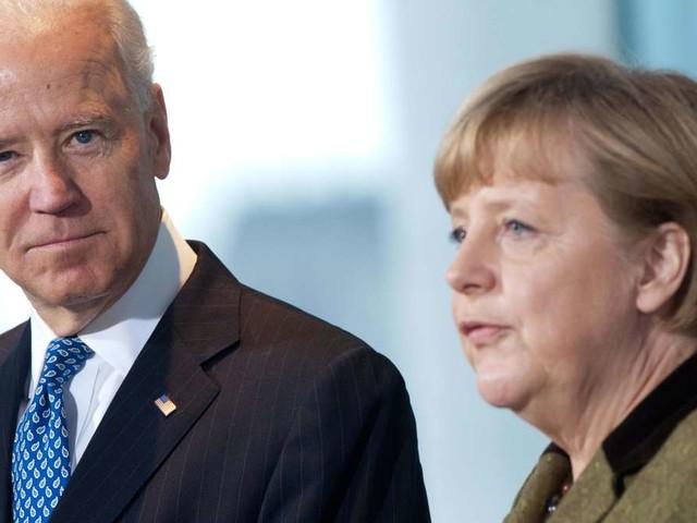 """Ukraine-Eskalation? """"Aggressives Verhalten"""" Russlands - Merkel und Biden reagieren - USA vor Waffen-Lieferung"""