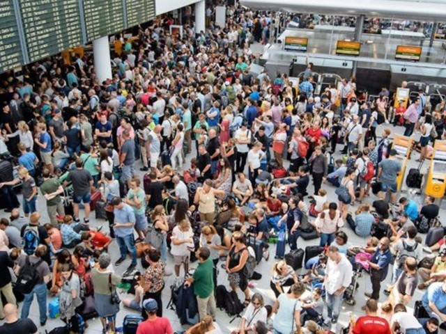 Mann legt Abfertigung am Münchner Flughafen lahm