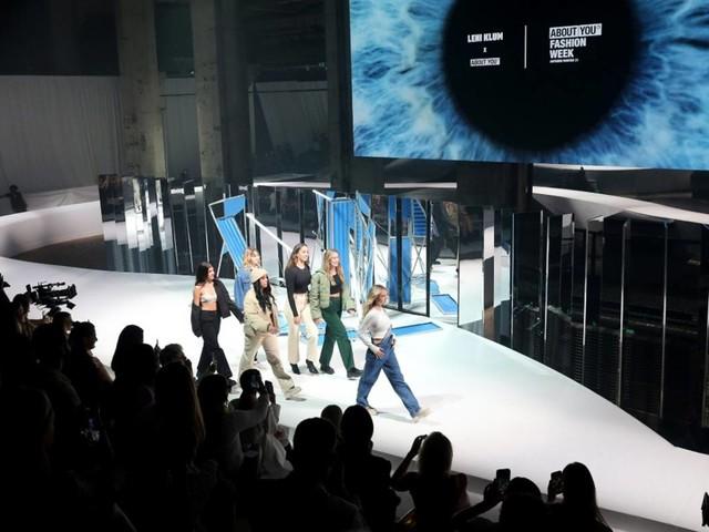 Auftritt in Berlin: Leni Klum präsentiert Kollektion auf Modewoche