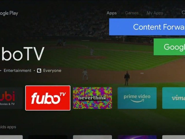 Android TV erhält seinen neuen Google Play Store
