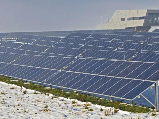 Steirisches Mürzzuschlag erhielt zweitgrößte Solaranlage Österreichs
