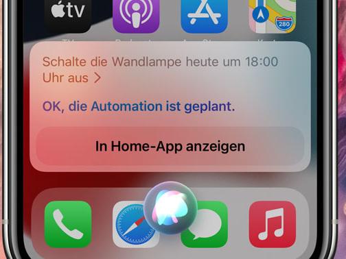 Neu mit iOS 15: HomeKit-Zeitsteuerung über Auto-Automationen