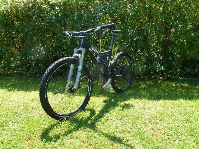 Mountainbike MTB Fully Specialized Stumpjumper S-Works FSR Pro in Weingarten