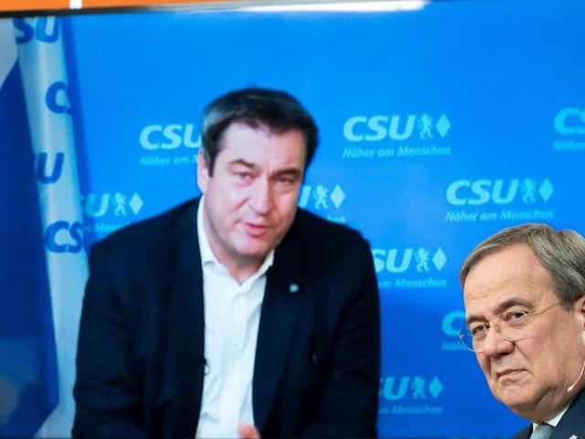 Unions-Fraktion berät mit Laschet und Söder über Kanzlerfrage