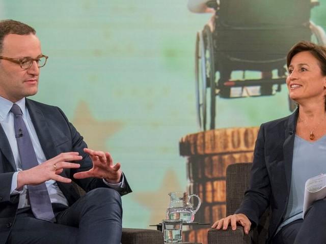 """""""Maischberger"""": Gesundheitsminister Jens Spahn reagiert erbost auf Lobby-Frage"""