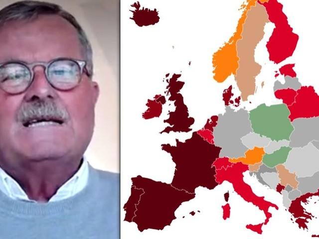 Aktuelle Corona-Lage: Ärztebund-Chef wettert gegen Impf-Politik – Europa-Karte färbt sich rot