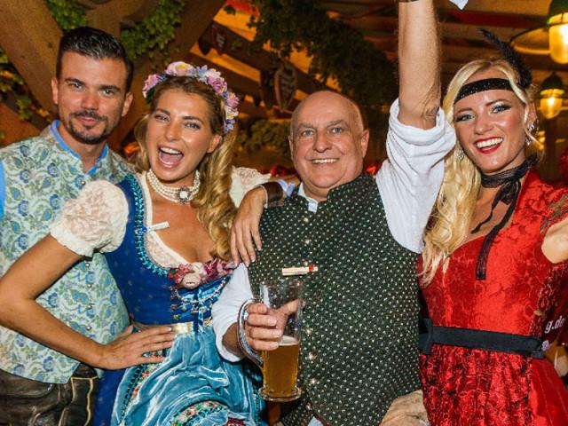 Promis in Stuttgart - Wasen statt Wiesn - VIP-Auflauf in Tracht in der SchwabenWelt