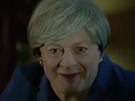 """""""Was this the right deal?"""": Gollum-Darsteller singt Bohemian Rhapsody – als Theresa May"""