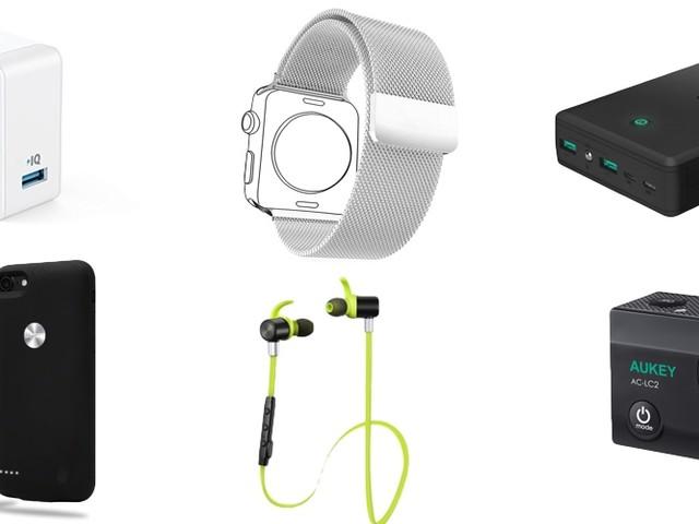 Amazon Blitzangebote: Apple Watch Milanaise-Armband, Lightning-Kabel, iPhone Hüllen, Lautsprecher, Kopfhörer, 4K Actioncam und mehr