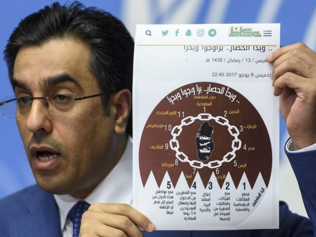 Golfstaaten und Ägypten legen Liste mit Forderungen an Katar vor