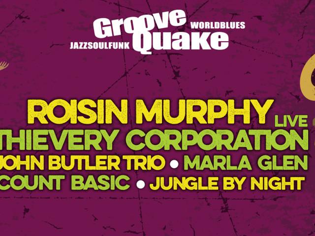 LAST MINUTE: 5 x 2 Tickets für das GrooveQuake