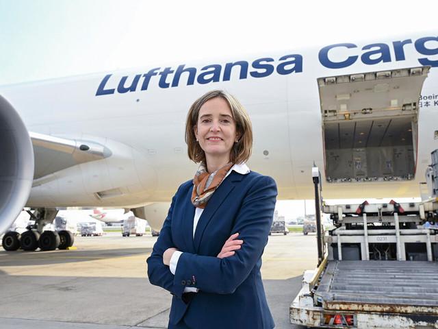 Frachtchefin von Boxberg: Lufthansas Krisengewinnerin