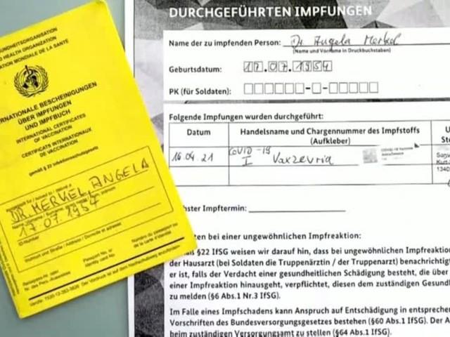 """Bundeskanzlerin: Merkel mit Astrazeneca geimpft: """"Schlüssel, um die Pandemie zu überwinden"""""""