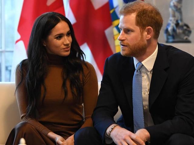 Herzogin Meghan + Prinz Harry | Royals: Vor diesem Foto lagen dramatische Stunden und Tage