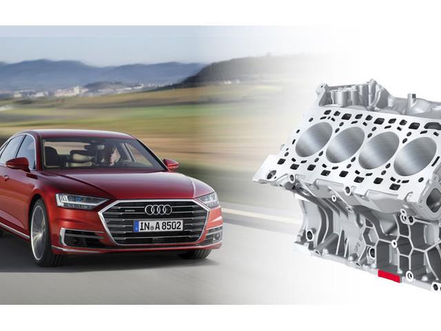 Motorentechnik: Neuer V8-TFSI von Audi