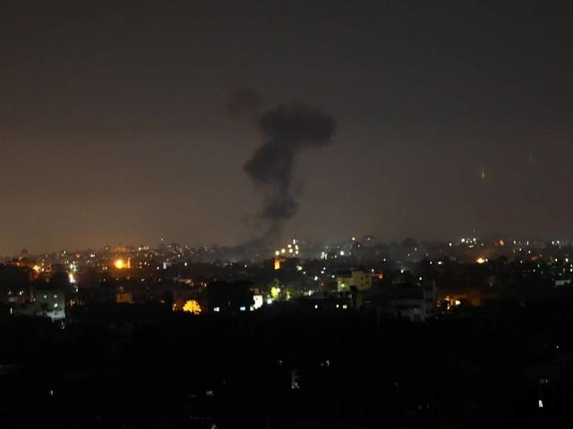 Reaktion auf Brandballons: Israel fliegt erneut Luftangriffe auf Gazastreifen