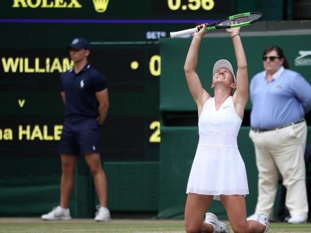 Überraschung in Wimbledon: Halep gewinnt Finale gegen Williams