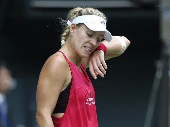 Kerber scheitert bei Tennis-Turnier in Tokio