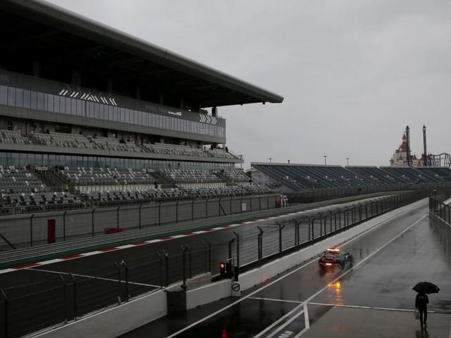 Dauerregen in Sotschi: Drittes Formel-1-Training abgesagt