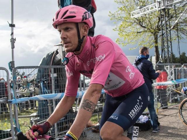 Und wieder landet ein Profi beim Giro d'Italia im Spital