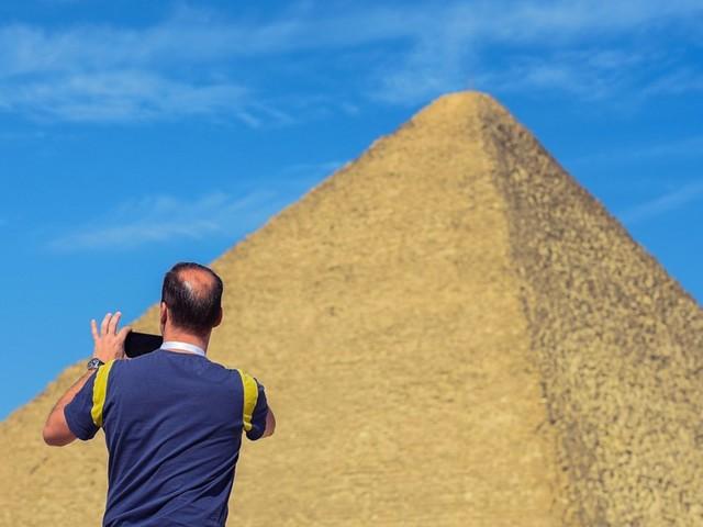 Webvermischtes - Zwei Festnahmen wegen Nacktaufnahmen auf ägyptischer Pyramide