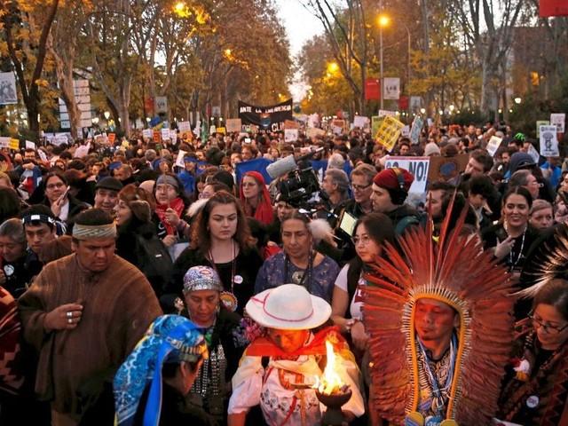 Weltklimakonferenz: Protestmarsch in Madrid hat begonnen
