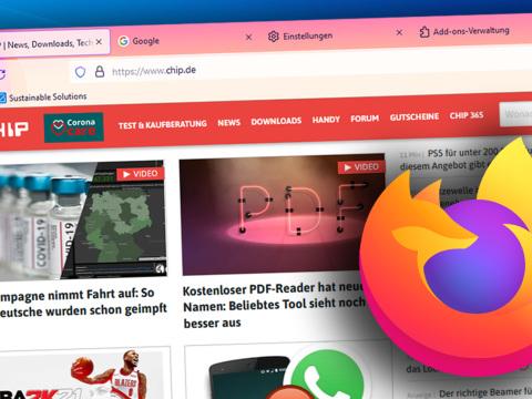 Firefox Browser kommt mit komplett neuem Design: So können Sie es schon jetzt ausprobieren