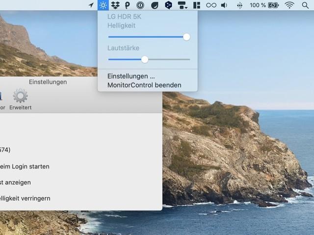 Helligkeit oder Lautstärke externer Monitore steuern: Monitor Control v3 arbeitet jetzt auch mit Apple-Chips