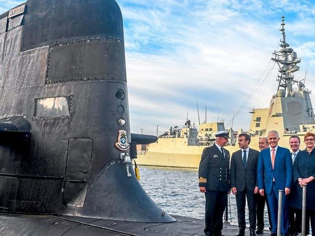 Frankreich beruft im U-Boot-Streit Botschafter aus den USA und Australien zurück