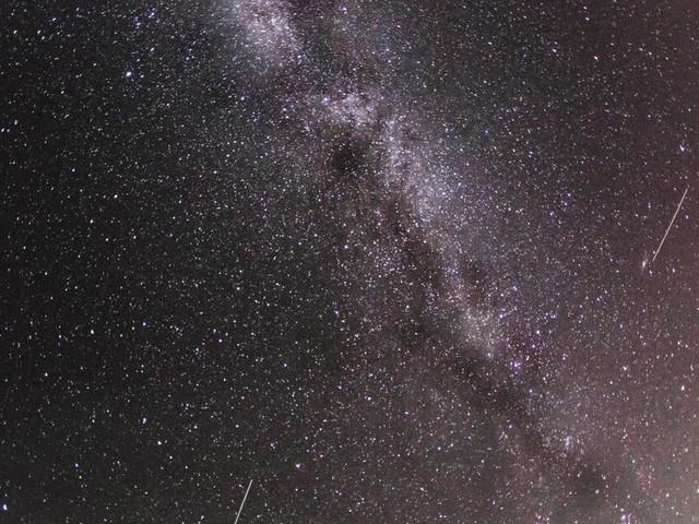 Perseiden: Sternschnuppenregen im August