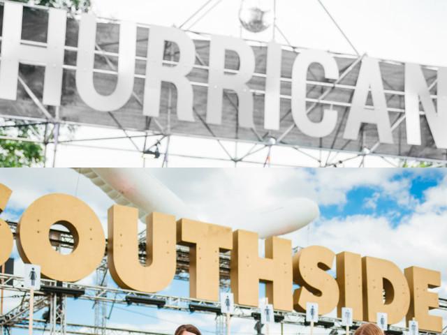Hurricane und Southside Festivals bestätigen dritte Bandwelle