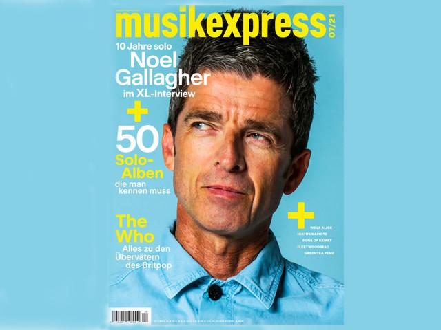 Mit Noel Gallagher, Soloalben-Special, Wolf Alice und The Who: Der neue Musikexpress ist da!