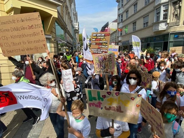 """Fridays For Future NÖ: """"Klimaschutz ist Ländersache"""""""