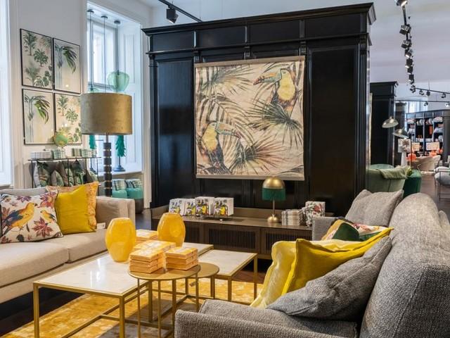 Magische Interieur-Welt im neuen Lederleitner Home Store in Wien