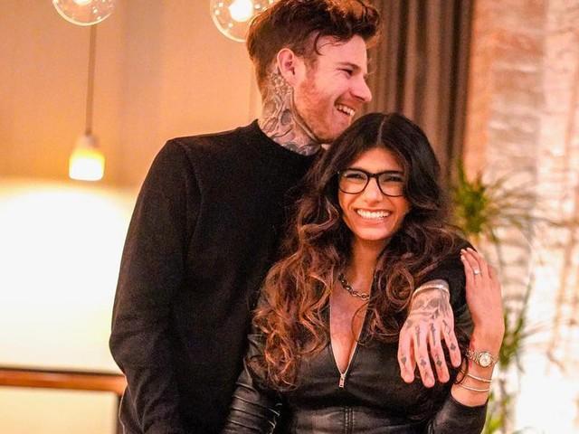 Mit Ring im Essen: Ex-Pornostar Mia Khalifa hat sich verlobt