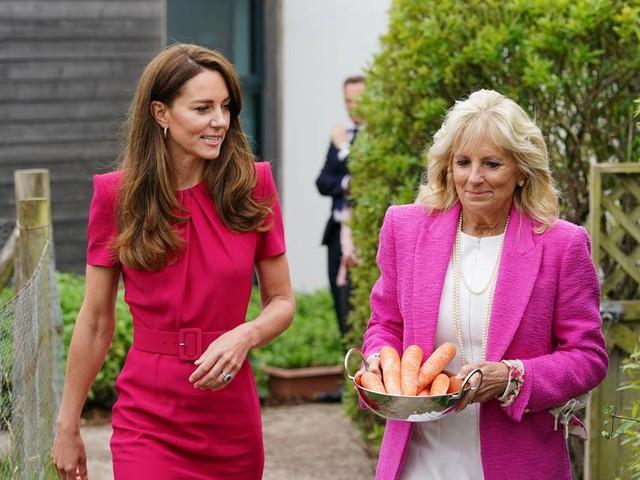 Herzogin Kate und Jill Biden unterstreichen Rolle früher Kindheit