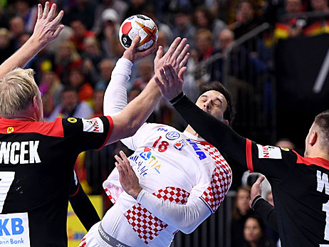 Handball-WM: Halbfinale! DHB-Team ringt nach Strobel-Schock Kroatien nieder