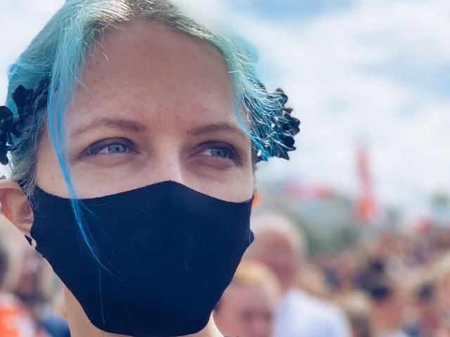 """""""Ich weiß nicht, warum sie uns das antun"""": Belarussin erzählt vom Protest in Minsk"""