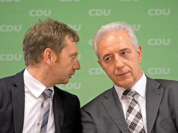 Ministerpräsident: Die Sachsen-CDU zieht mit Tillichs Rücktritt die Notbremse